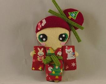 Poupée / Kawaii / Japon / Noel / Kimono