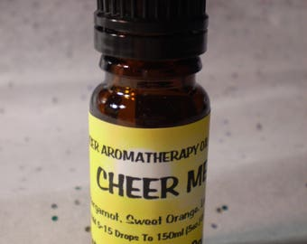 Cheer Me Up Aromatherapy Diffuser Blend - Pure Essential Oil Blend - Holistic - Diffuse