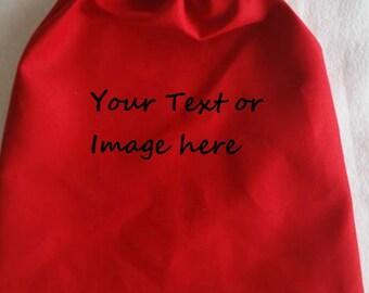 Mini Drawstring Bags Custom Embroider or Plain Custom Embroidered Mini cornhole bags