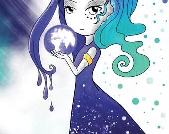 Goddess of earth Card