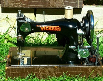 The Vickers Vintage Sewing Machine