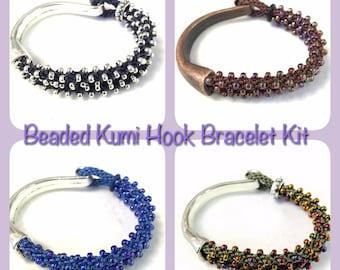 Beaded Kumi Half Hook Bracelet Kits