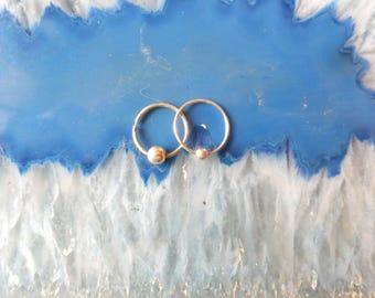 Vintage Stash of Sterling Hoop Earrings