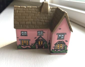 Vintage Wade Whimsey On Why Village The Vicarage #20 House-Rare