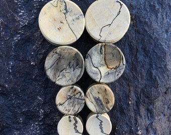 "Tamarind Wood Plugs 8g 6g 4g 2g 0g 00g 7/16"" (11mm) 1/2"" (12mm)"