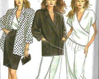 New Look 6262  Misses Jacket, Top, Skirt, Pants     Size 8-18    Uncut