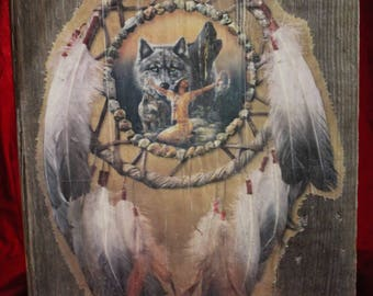 Native American Dream Catcher Wall Hanging