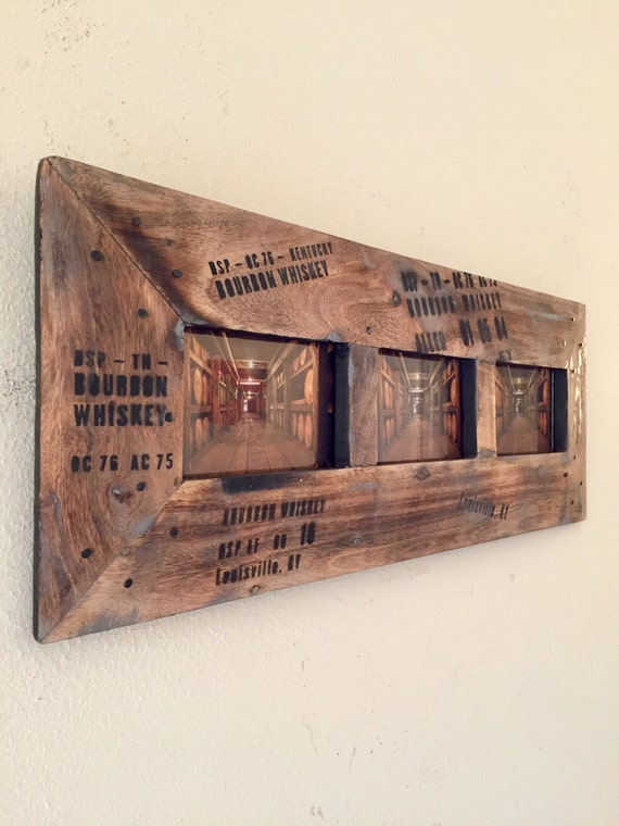 Picture Frame Bourbon Whiskey Decor Bourbon Whiskey