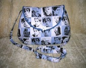 "Star Wars  ""Princess Leia"" shoulder strap purse - smaller  version"