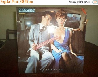 Save 30% Today Vintage 1983 Vinyl LP Record Lovedrive The Scorpions Rare West German Import Near Mint Condition 4893