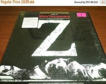 Save 30% Today Vintage 1969 Vinyl LP Record Z Original Motion Picture Soundtrack Mikis Theodorakis Near Mint Condition 845