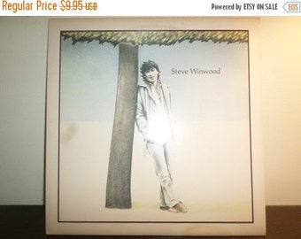 Save 30% Today Vintage 1977 Vinyl LP Record Steve Winwood Self Titled Excellent Condition 8943