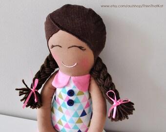 Handmade Dolly | Cloth Rag Doll | New Baby Gift