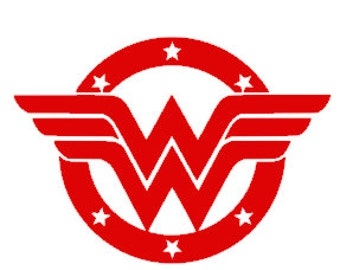 Wonder Woman decal for Yeti, tumbler, water bottle, travel mug, car, truck, laptop. Mother's Day Gift