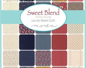 Sweet Blend from Laundry Basket Quilts - 30 x FQ Bundle
