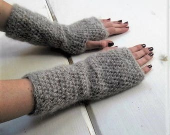 Arm warmers, assorted colors handwarmers, long arm warmers, fingerless mitts -