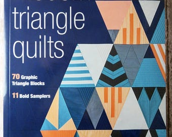 Modern Triangle Quilts - Rebecca Bryan - 70 Graphic Triangle Blocks - 11 Bold Samplers - Stash Books - 11186