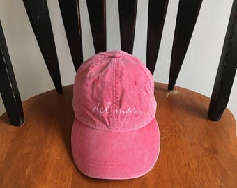 Pink California Del Mar Cap