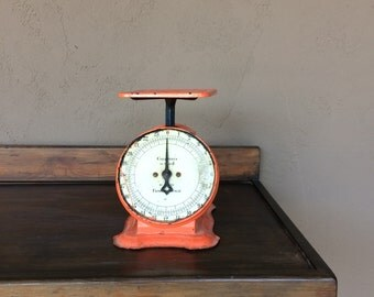 Columbia Family Scale // Antique Family Scale