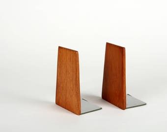 Bookends, teakwood, vintage, danish, teak