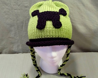 Minecraft Creeper Hat Newborn Child Adult Hat Any Size Same Price!!!