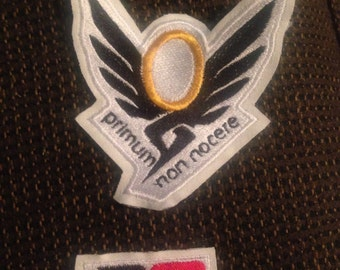 Mercy cosplay patches