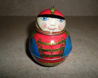 Jolly Wolly Hallmark Christmas Ornament 1991 Soldier Drummer Boy