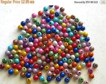 HALF PRICE 50 Round Miracle Beads - 4mm