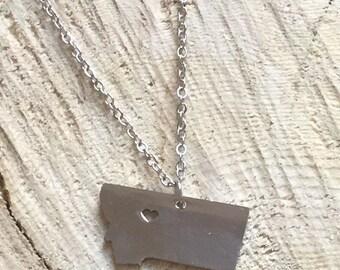 Montana pendant necklace