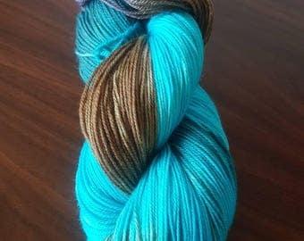 Hand Dyed Merino Nylon Sock Yarn