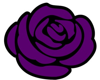Triss Merigold Purple Rose Vinyl Decal | Inspired by The Witcher