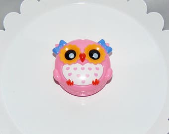 Cute Pink Owl Lip Gloss... Its a Hoot!!
