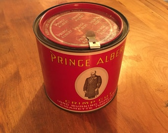 Prince Albert Tobacco - Tin Container - Tin Advertising