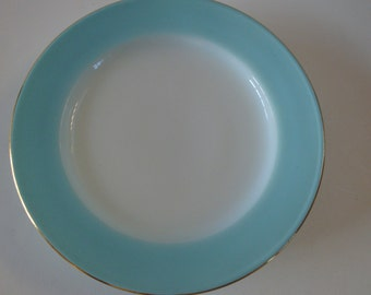 FREE SHIPPING Pyrex JAJ Duck Egg Blue Side Plates X 4