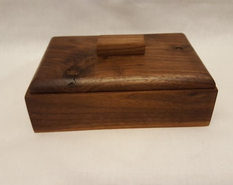 Wood Box, Black Walnut