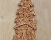 Wood Nativity Wall Hangin...