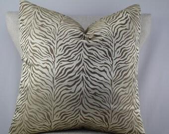 Designer animal pattern,pillow cover,throw pillow,decorative pillow,accent pillow,lumbar pillow same fabric on front and back.