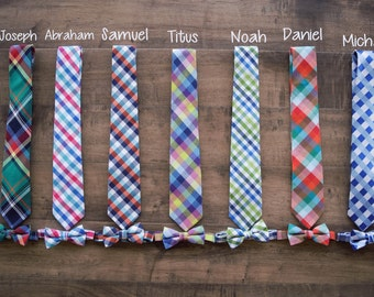 Ready to Ship! Matching Christmas Outfits - Dad Son - Matching Christmas Ties - Matching Ties Christmas Adorable Matching Dad Son