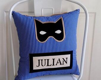 Superhero Personalised Cushion (2 Colours Available)