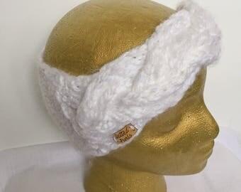 White Braid Headband