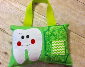 Tooth Fairy Pillow green