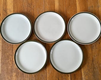 Denby Pottery Camelot Bread & Butter Plate Set