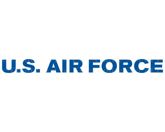U.S. Air Force Military Birthday - Edible Cake and Cupcake Topper For Birthday's and Parties! - D21931