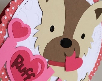 I Ruff You Puppy Love card