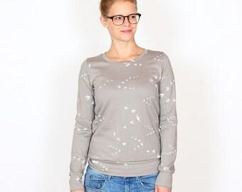 Sweater Wilma / / taupe swallows