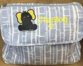 Monogram Diaper Bags