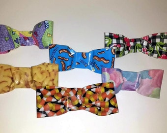 One Food Related Duct Tape Hair Bow