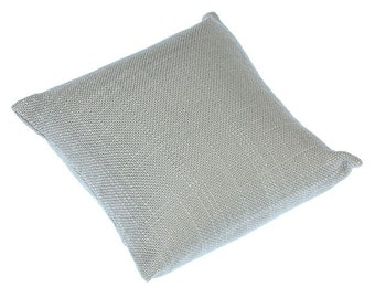 "Grey Linen Pillow for Watches or Bracelets 4""x4"" (Pkg of 2)  (DIS7120)"