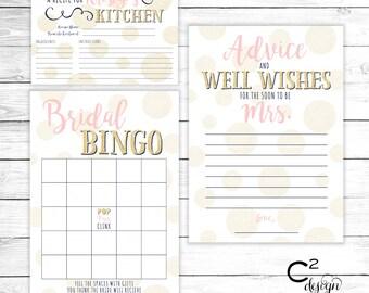 Bridal Shower Digital Package | Brunch & Bubbly