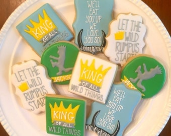 Where the Wild Things Are Cookies | One Dozen